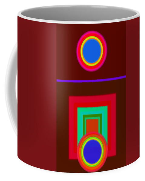 Classical Coffee Mug featuring the digital art Some Like It Hot by Charles Stuart