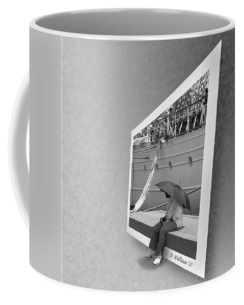 2d Coffee Mug featuring the photograph Somewhere Its Raining by Brian Wallace