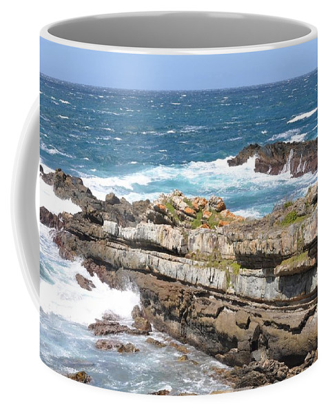 Beach Coffee Mug featuring the photograph South Africa by FL collection