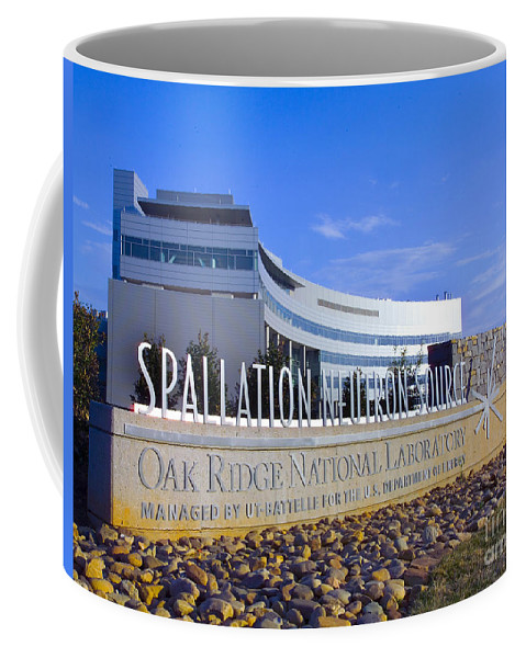 Science Coffee Mug featuring the photograph Spallation Neutron Source by Science Source