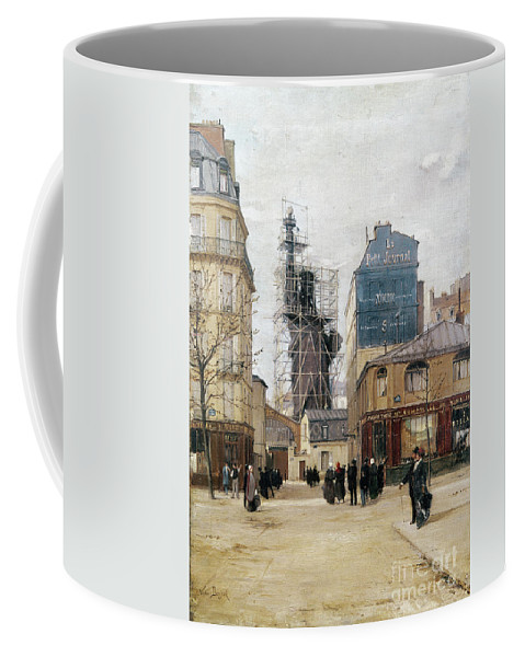 1884 Coffee Mug featuring the photograph Statue Of Liberty, C1884 by Granger
