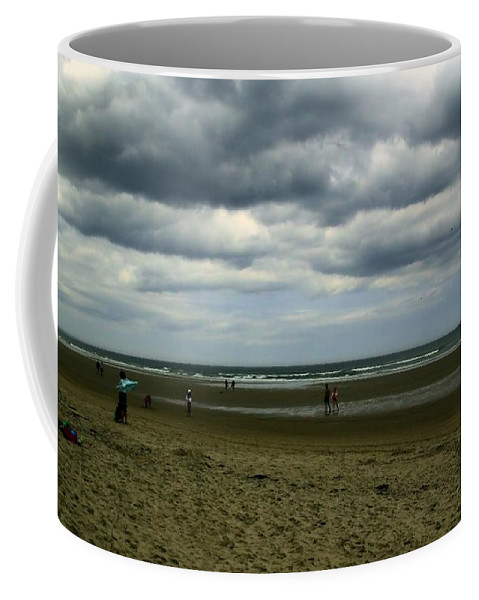 Maine Coffee Mug featuring the photograph Storm Approaching by Robert McCulloch