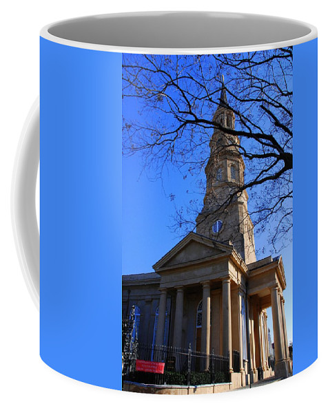 Photography Coffee Mug featuring the photograph St.philips Episcopal Church In Charleston Sc by Susanne Van Hulst