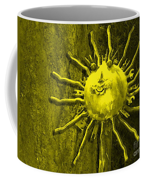 Sun Coffee Mug featuring the photograph Sun Tool by Debbi Granruth