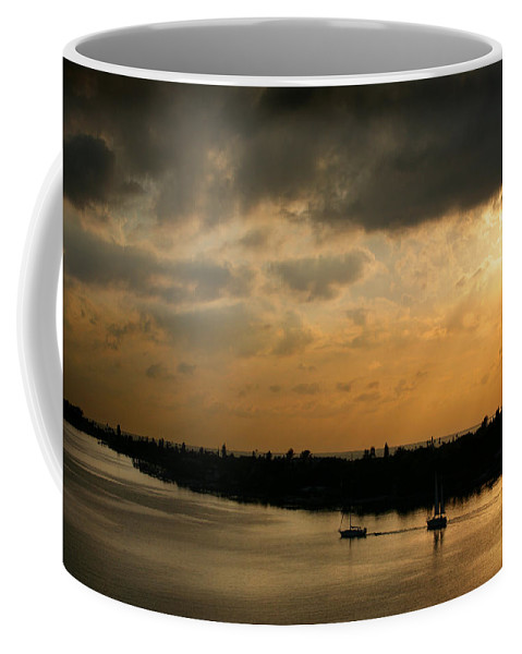 Photograph Coffee Mug featuring the photograph Sunset At Pass A Grille Florida by Mal Bray