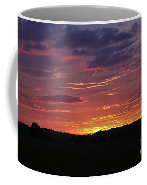 Landscape Coffee Mug featuring the photograph Sunset Colors by Sandra Huston