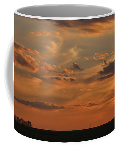 Theresa Campbell Coffee Mug featuring the photograph Sunset Strip II by Theresa Campbell