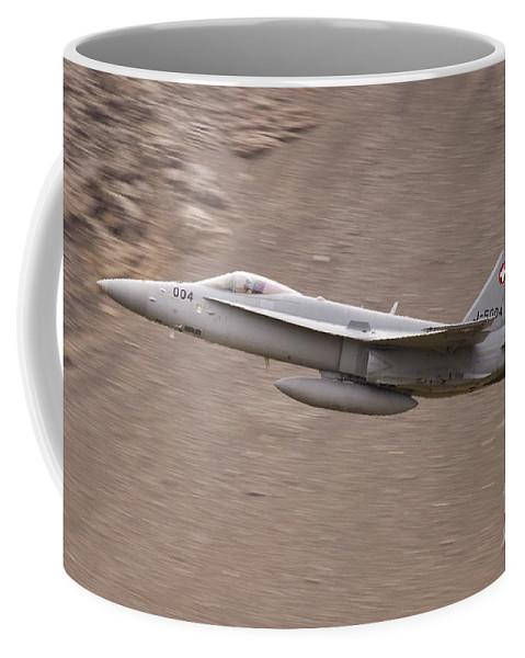 Axalp Coffee Mug featuring the photograph Supersonic by Angel Ciesniarska