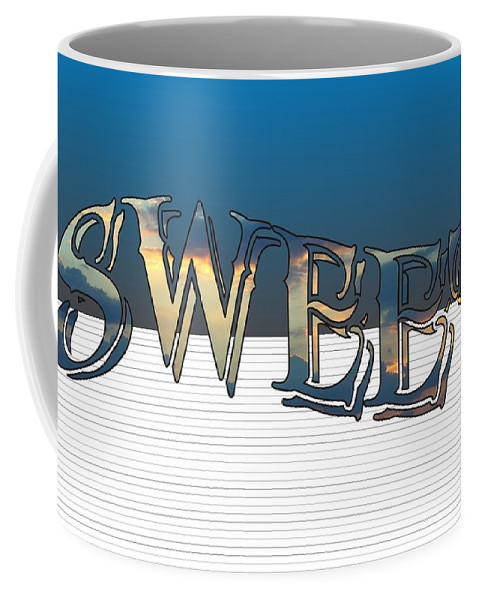 Sweet Dreams Coffee Mug featuring the digital art Sweet Dreams Part 1 20x14 Pillow by Priscilla Wolfe