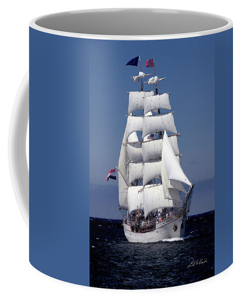 Color Coffee Mug featuring the photograph Tall Ship Europa by Frederic A Reinecke