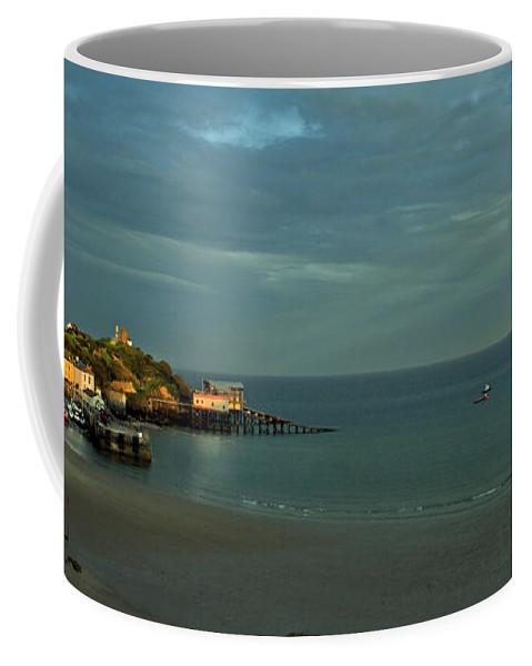 Tenby Coffee Mug featuring the photograph Tenby by Angel Ciesniarska