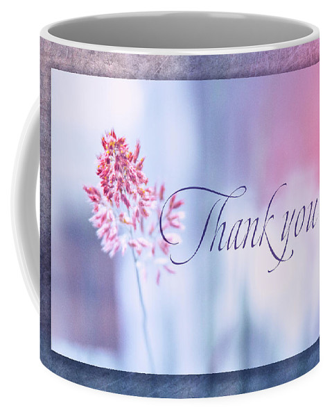 Thank You Coffee Mug featuring the digital art Thank You 1 by Terry Davis