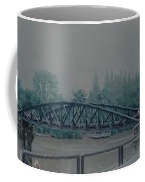 Bridge Coffee Mug featuring the photograph The Bridge On The River Kwai by Rob Hans
