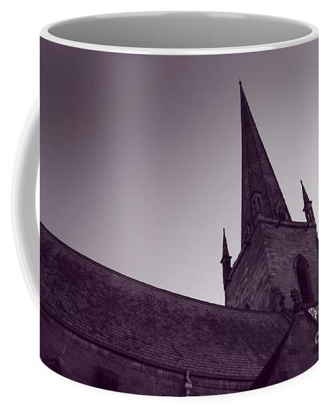 Church Coffee Mug featuring the photograph The Church by Angel Ciesniarska