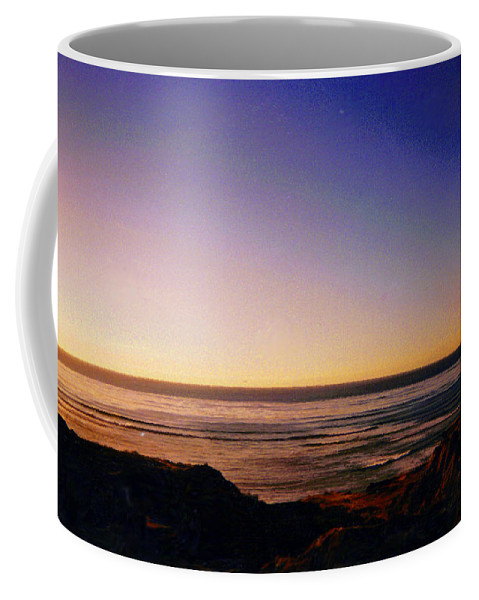 San Diego Coffee Mug featuring the photograph The Cliffs by Jean Haynes