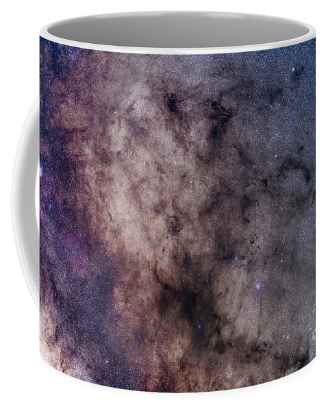 B72 Coffee Mug featuring the photograph The Dark Horse And Snake Nebulae by Alan Dyer