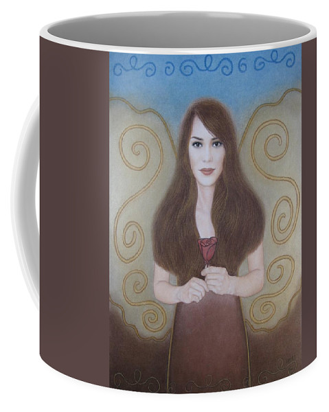Dream Coffee Mug featuring the painting The Dream by Lynet McDonald