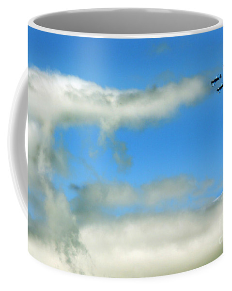 Blades Extra 300 Coffee Mug featuring the photograph The Fantastic Four by Angel Tarantella