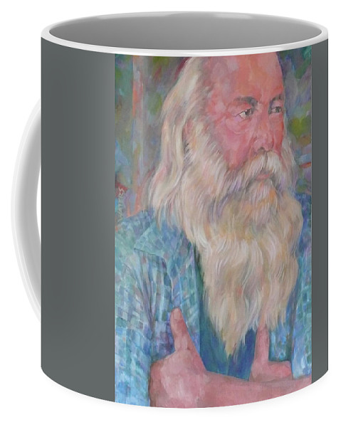 Another Bloke Coffee Mug featuring the digital art The Fiddler by Scott Waters