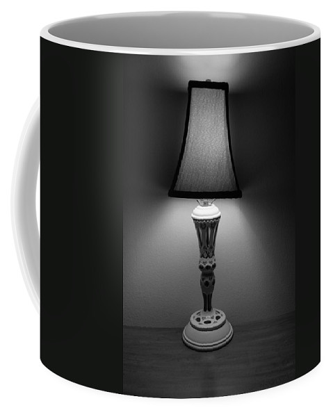 Lights Coffee Mug featuring the photograph The Lamp by Rob Hans