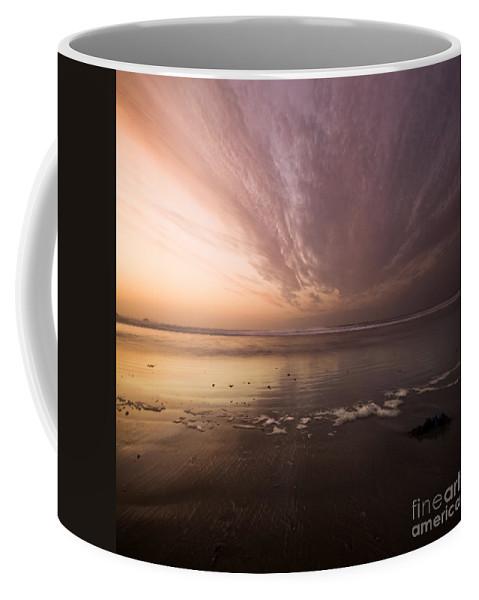 Horizon Coffee Mug featuring the photograph The Low Tide by Angel Tarantella