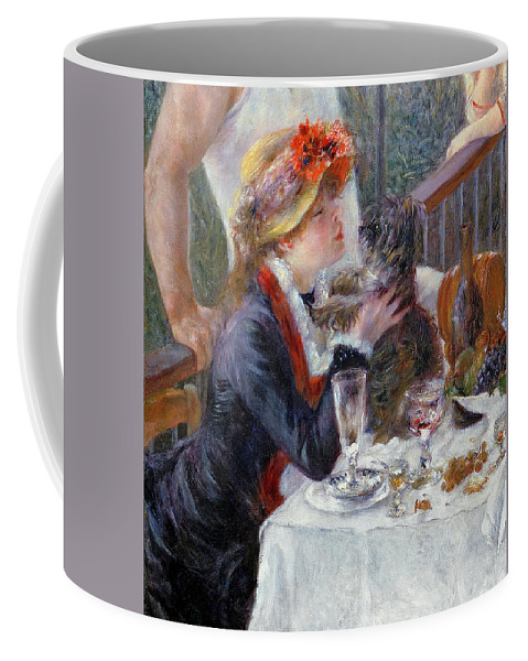 The Coffee Mug featuring the painting The Luncheon Of The Boating Party by Pierre Auguste Renoir