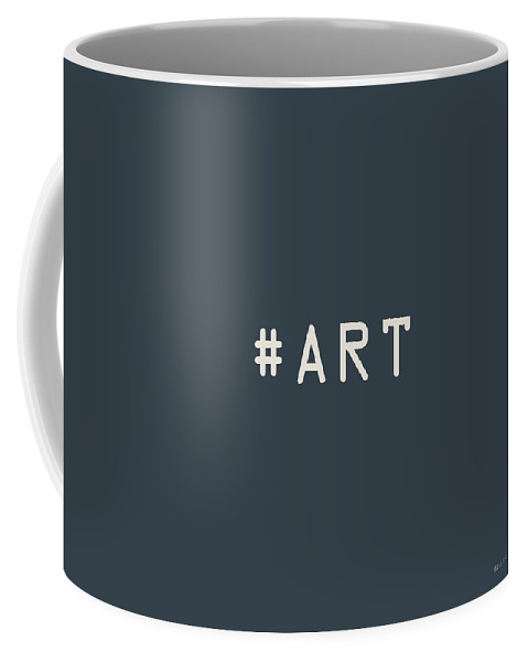 The Meaning Of Art By Serge Averbukh Coffee Mug featuring the photograph The Meaning of Art - Hashtag by Serge Averbukh