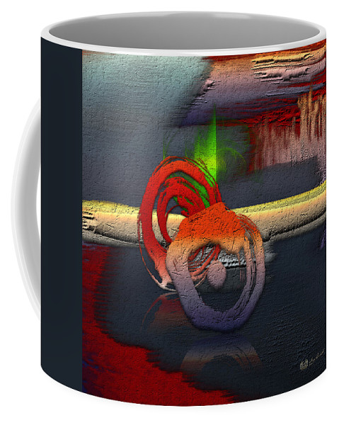 Abstracts Plus By Serge Averbukh Coffee Mug featuring the photograph The Night is Young by Serge Averbukh