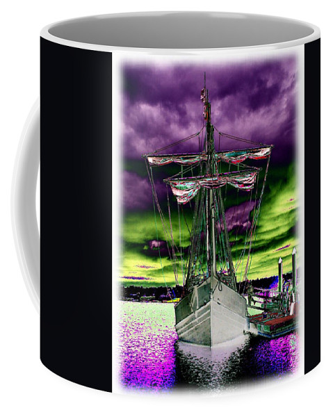 Nina Coffee Mug featuring the photograph The Nina 2 by Tim Allen