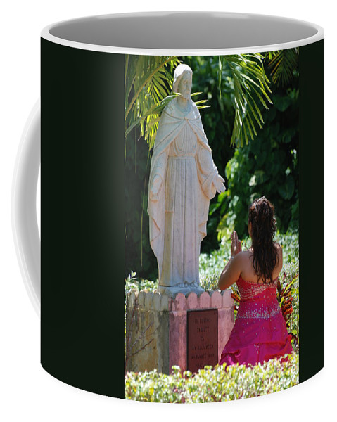 Portrait Coffee Mug featuring the photograph The Praying Princess by Rob Hans