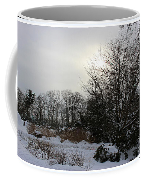 Winter Coffee Mug featuring the photograph The Storm Is Gone by Dora Sofia Caputo Photographic Design and Fine Art