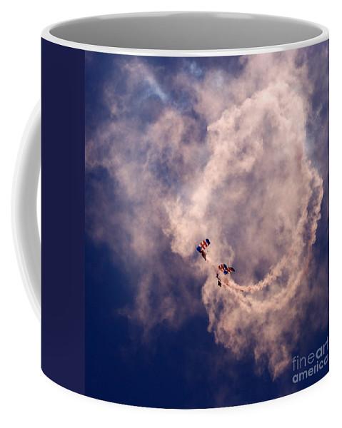 Swirl Coffee Mug featuring the photograph the Swirl by Angel Ciesniarska