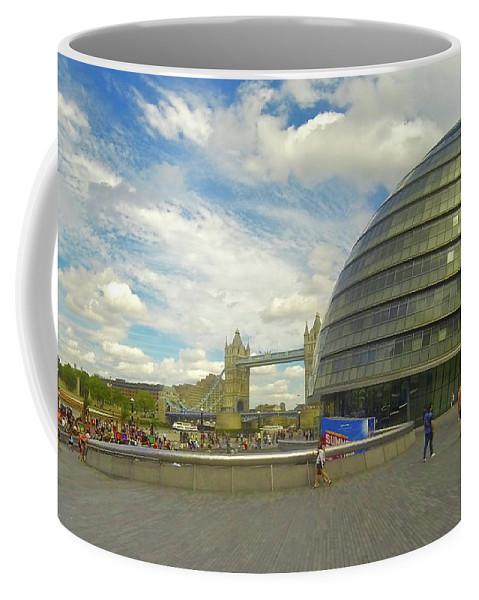 The Tower Of London Coffee Mug featuring the photograph The Towers Of London by Steve Swindells