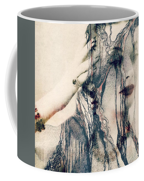 Woman Coffee Mug featuring the mixed media The Way We Were by Paul Lovering