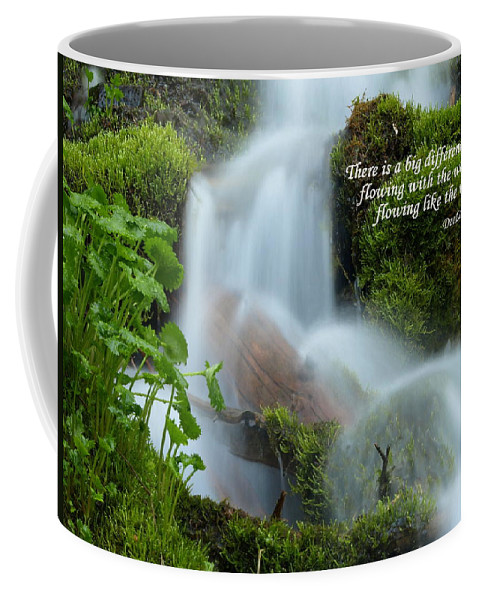 Water Coffee Mug featuring the photograph There Is A Big Difference... by DeeLon Merritt
