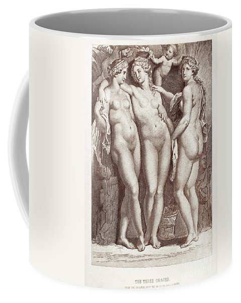 Ancient Coffee Mug featuring the photograph Three Graces by Granger