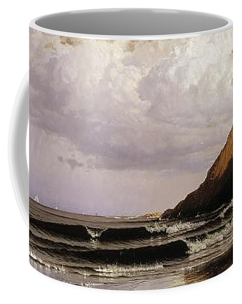 Alfred_bricher_-_time_and_tide Coffee Mug featuring the painting Time And Tide by MotionAge Designs