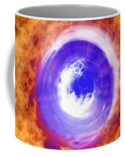 Power Coffee Mug featuring the digital art Transformation by Richard Rizzo