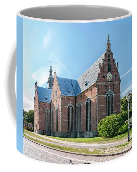 Kristianstad Coffee Mug featuring the photograph Trinity Church In Kristianstad by Antony McAulay