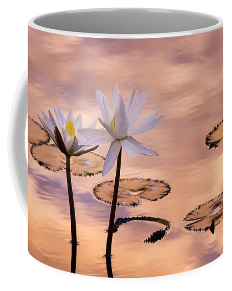 Bloom Coffee Mug featuring the photograph Tropical Lily by Joe Mamer