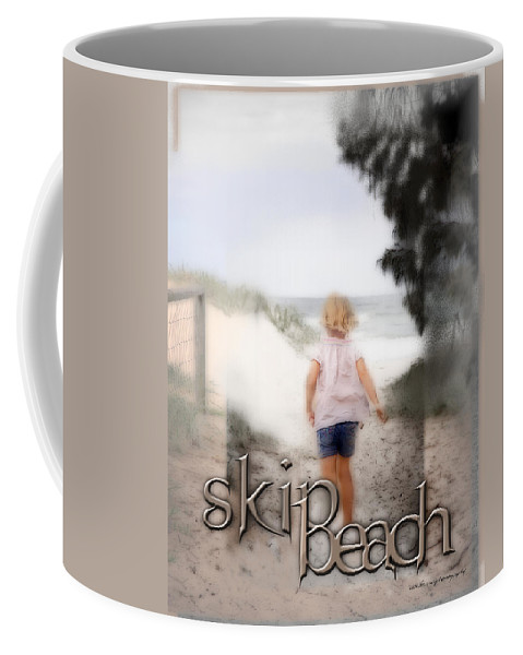 Quote Coffee Mug featuring the digital art True Friends by Vicki Ferrari