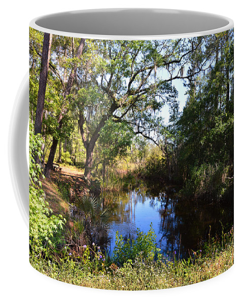 Coastal Coffee Mug featuring the photograph Typically Tidal by Laura Ragland