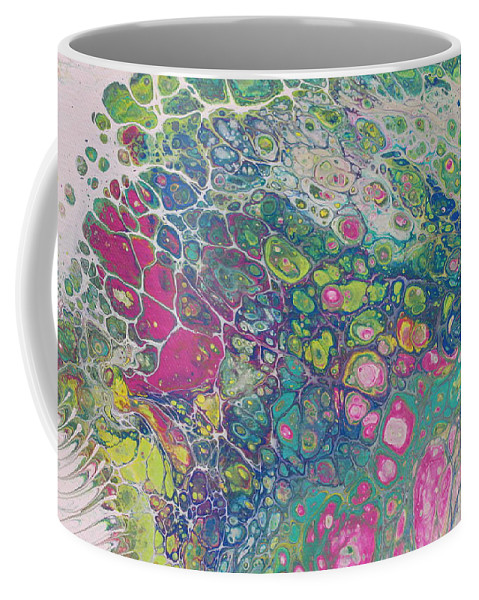 Coffee Mug featuring the painting Untitled by Shannon Fomby