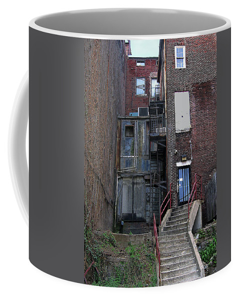 2d Coffee Mug featuring the photograph Urban Decay by Brian Wallace
