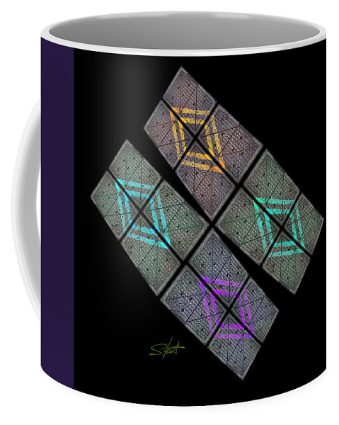 Space Coffee Mug featuring the photograph Urban Space by Charles Stuart