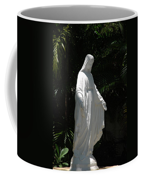 Florida Coffee Mug featuring the photograph Virgin Mary by Rob Hans