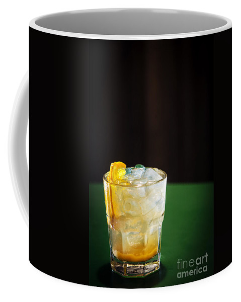 Alcohol Coffee Mug featuring the photograph Vodka And Orange Screwdriver Classic Cocktail Drink by Jacek Malipan
