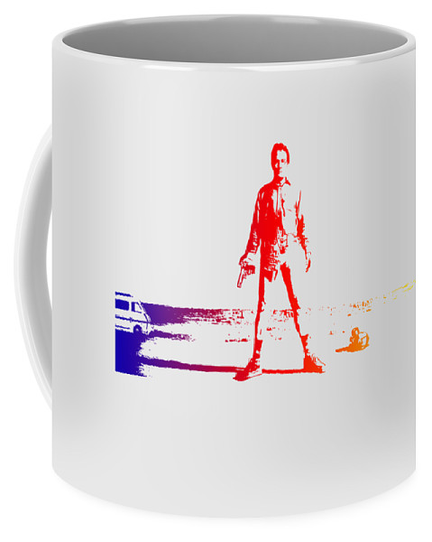 Breaking Bad Coffee Mug featuring the photograph Walter White Aka Heisenberg by Chris Smith