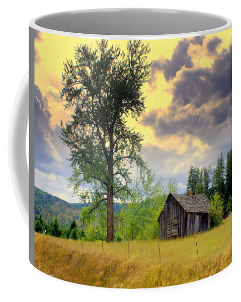 Washington Coffee Mug featuring the photograph Washington Homestead by Marty Koch