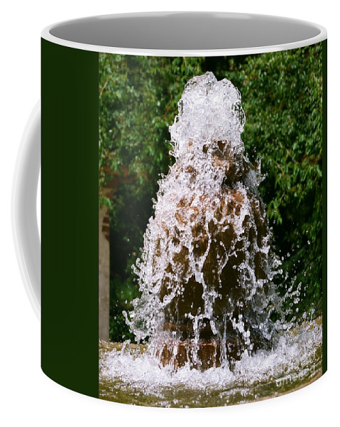 Water Coffee Mug featuring the photograph Water Fountain by Dean Triolo